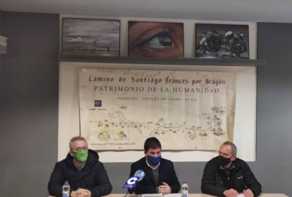 José Manuel Salvador, Juan Manuel Ramón y Javier Acín