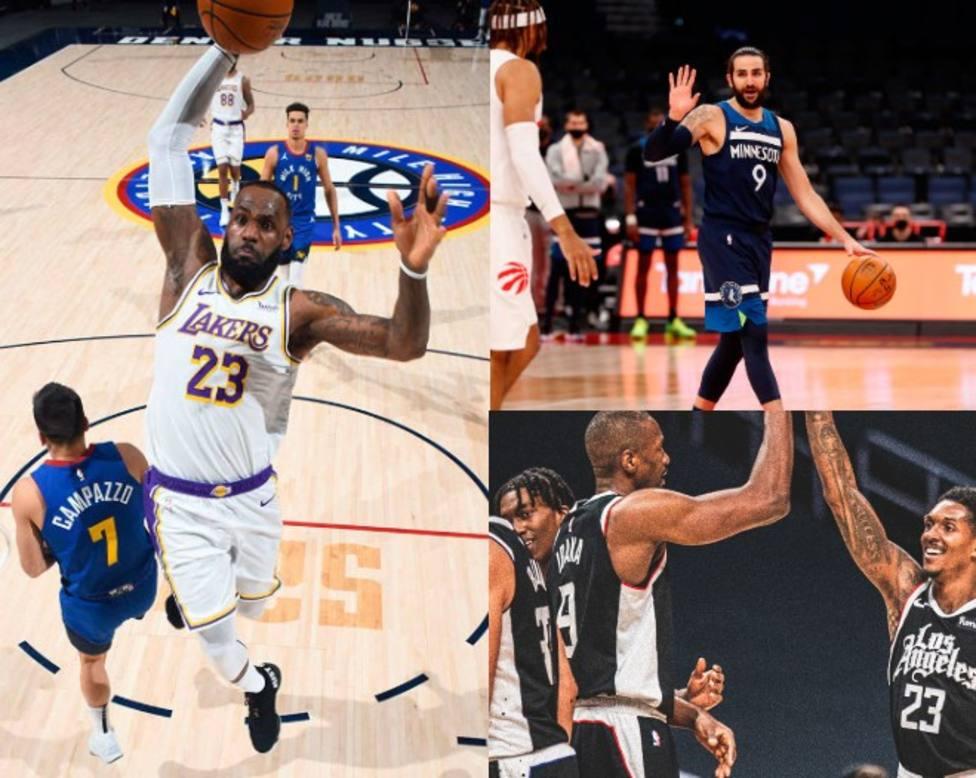 Madrugada NBA