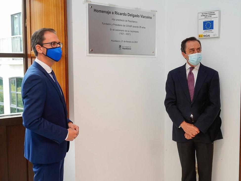 El Ayuntamiento de Pozoblanco nombra a Ricardo Delgado Vizcaíno Hijo Predilecto de la localidad