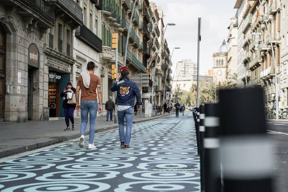 Imagen de la calle Pelai de Barcelona - AYUNTAMIENTO DE BARCELONA
