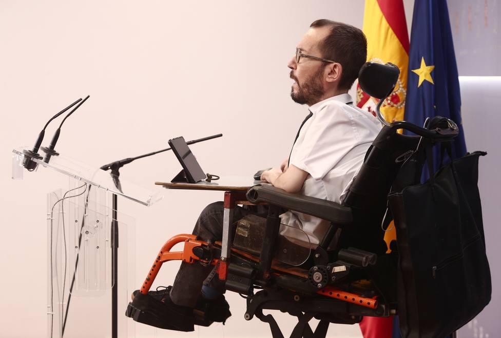 Pablo Echenique acusa a Abascal de provocar una carga contra los vecinos de Vallecas con bravuconadas
