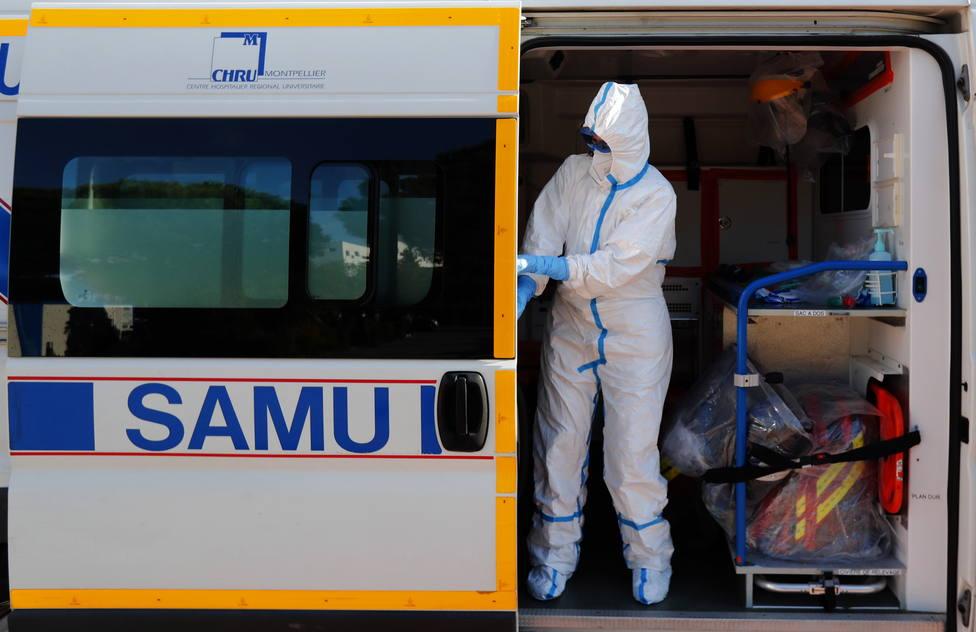 Francia relaja su presión hospitalaria por cuarto día consecutivo