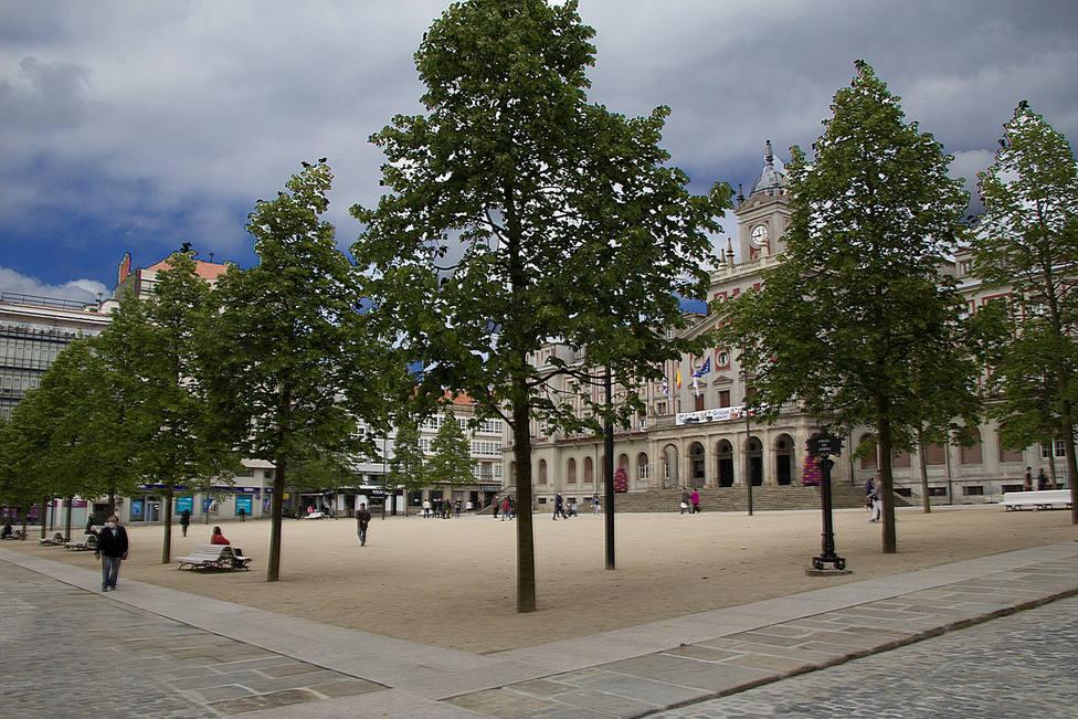 La reforma de la plaza de Armas se finalizó en el año 2020 - FOTO: José Mauriz