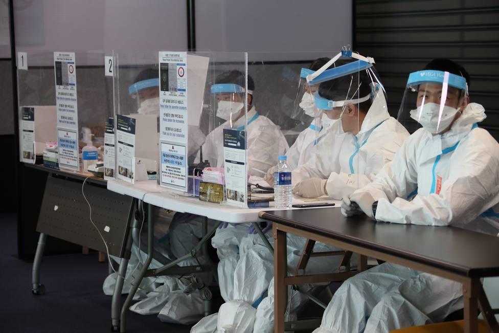 Centro Vacunación de Corea del Sur