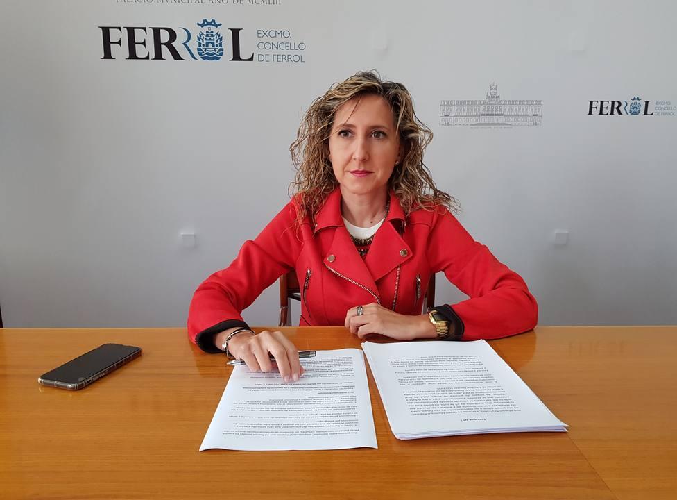 La concejala del PP Martina Aneiros. FOTO: PP de Ferrol