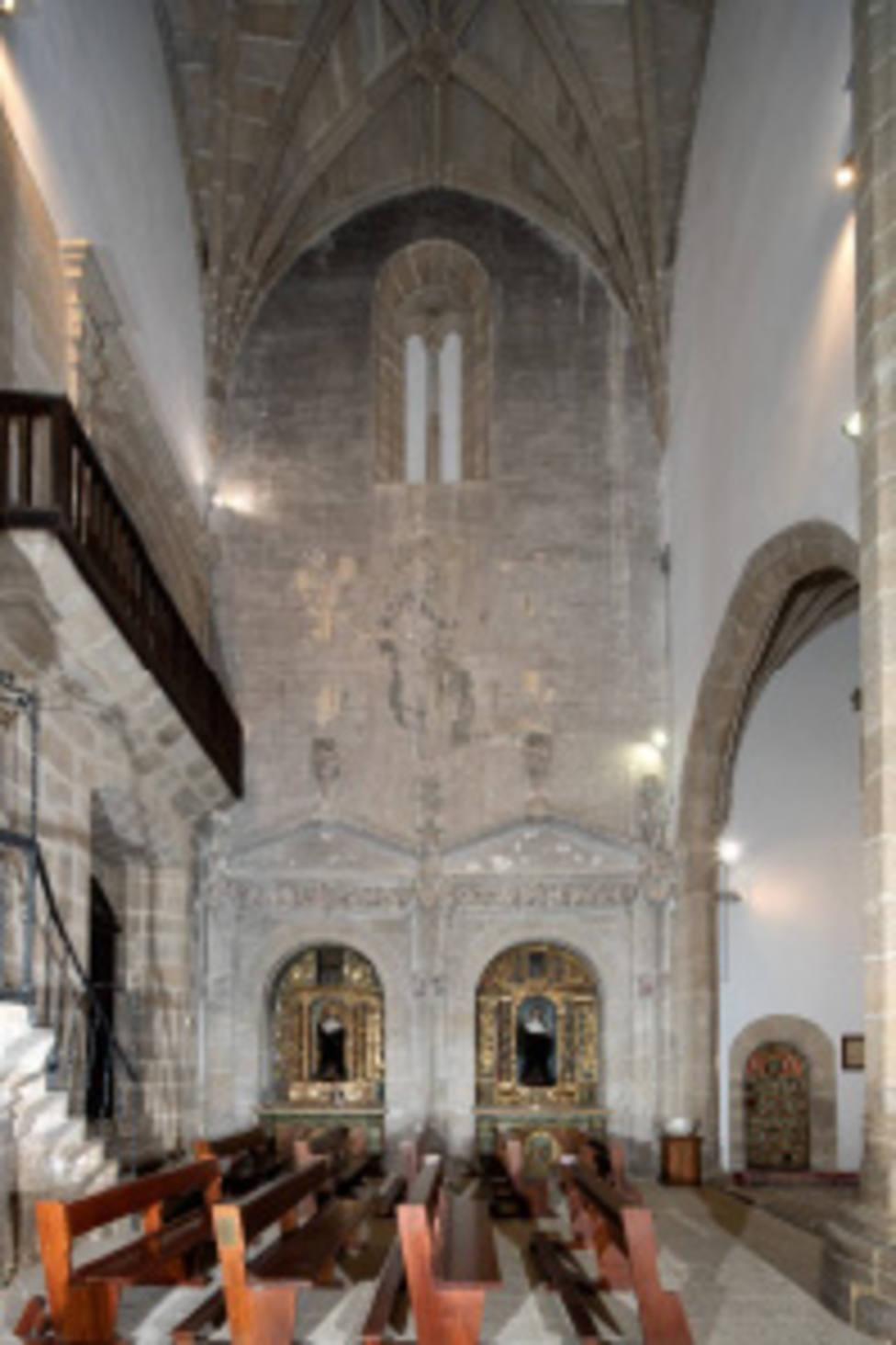 Iglesia del monasterio de San Vicente, en Monforte de Lemos
