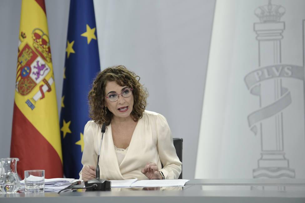 María Jesús Montero apuesta por la desconcentración y cree que lo desea la gran mayoría de españoles
