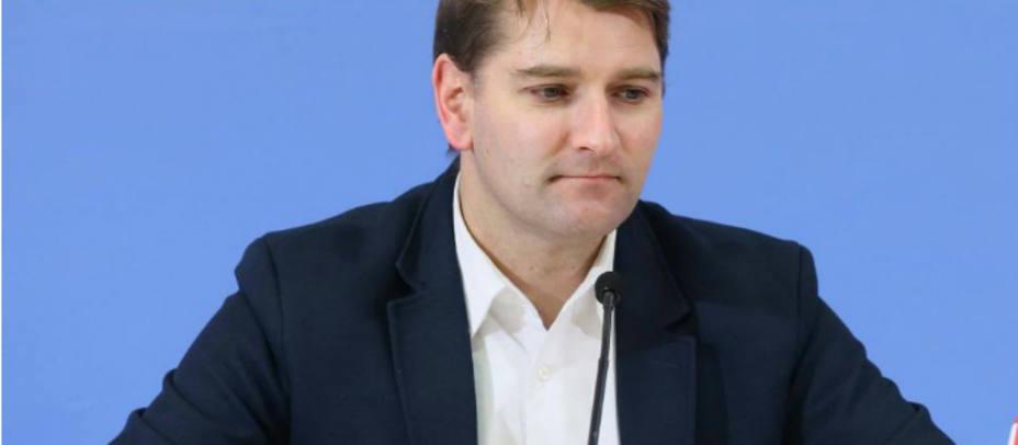 El secretario de Economía del PSOE, Manuel de la Rocha. EFE