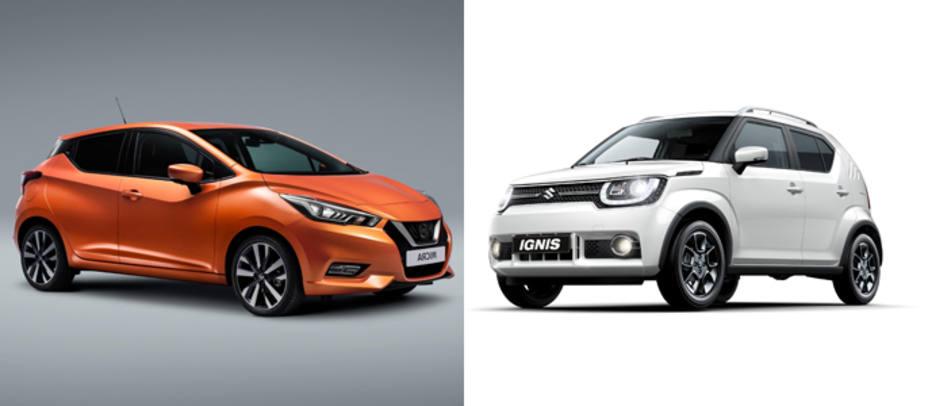 Nissan Micra y Suzuki Ignis
