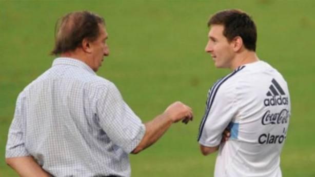 Bilardo y Messi