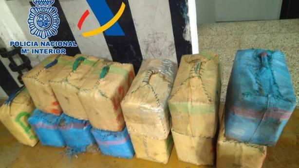 10 toneladas de hachís intervenidas en Canarias