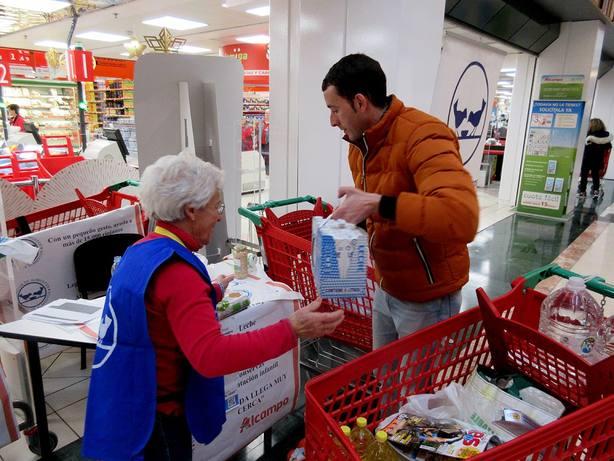 La VI Gran Recogida del Banco de Alimentos de La Rioja se ha cerrado con 176.639 kilos