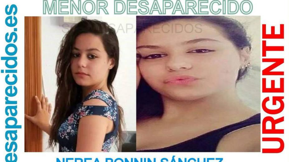 Nerea Bonning, la menor desaparecida en Palma de Mallorca desde octubre