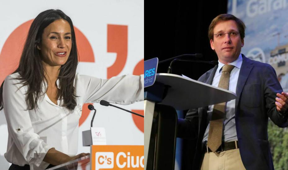 PP y Cs empatan con un 22% de estimación de voto en Madrid y Carmena gana con el 26%