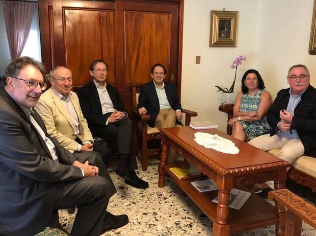 Una delegación del Senado se reúne en Nicaragua con la Alianza Cívica para conocer el diálogo con el Gobierno