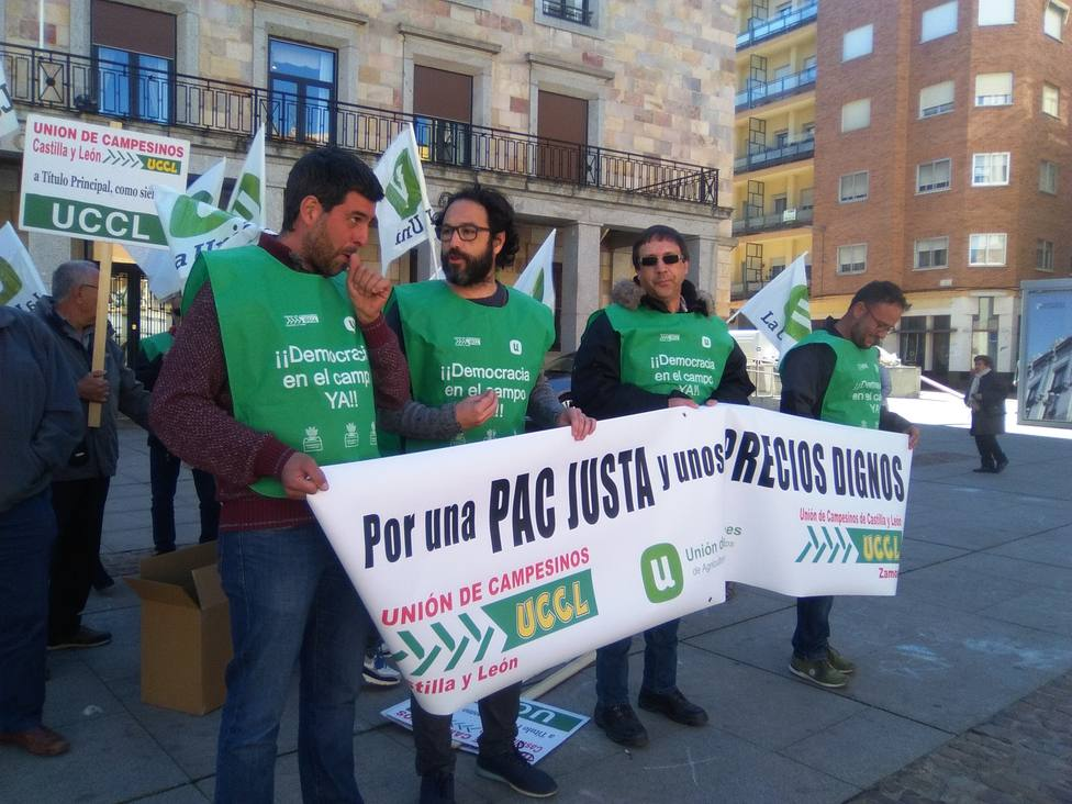 Protesta UCCL