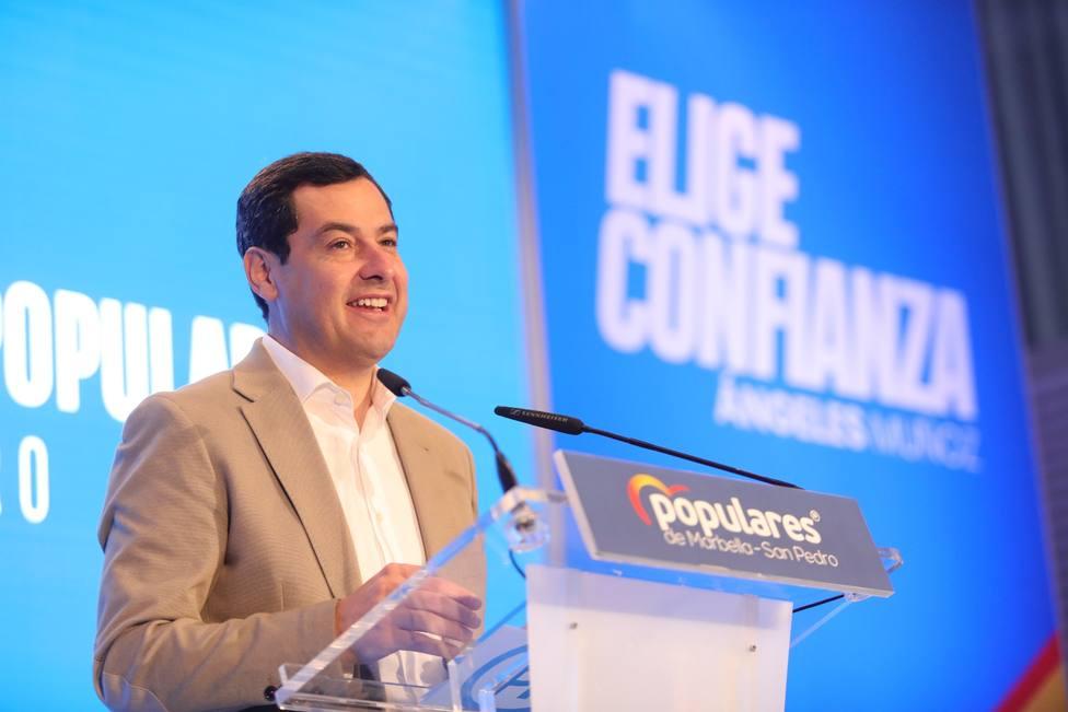 Juanma Moreno anuncia que el impuesto de sucesiones se suprimirá de forma definitiva en un mes