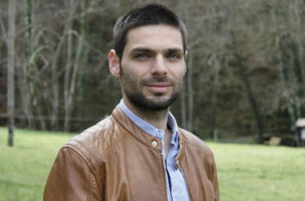 Diego Fernández, portavoz del BNG en Cervo