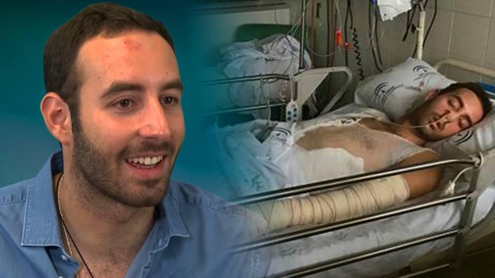 El joven que se encontró con Dios en el hospital tras sobrevivir a un incendio