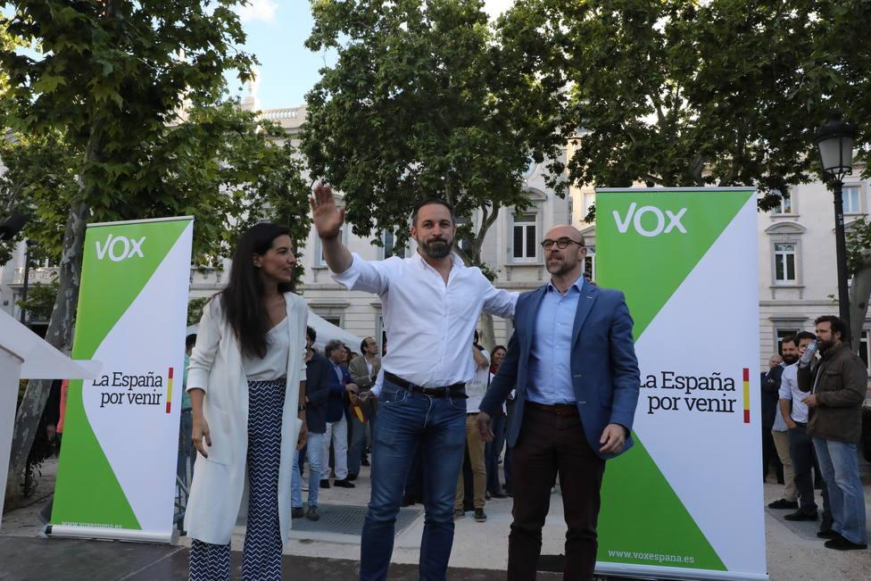 Vox entra por primera vez en el Parlamento Europeo con tres escaños pero pierde la mitad de votos del 28A