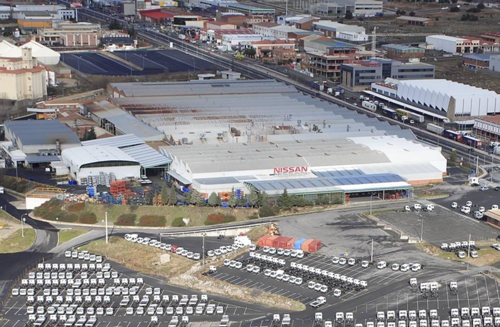 Primera jornada de huelga en la fábrica de Nissan en Ávila para exigir compromisos del Plan Industrial