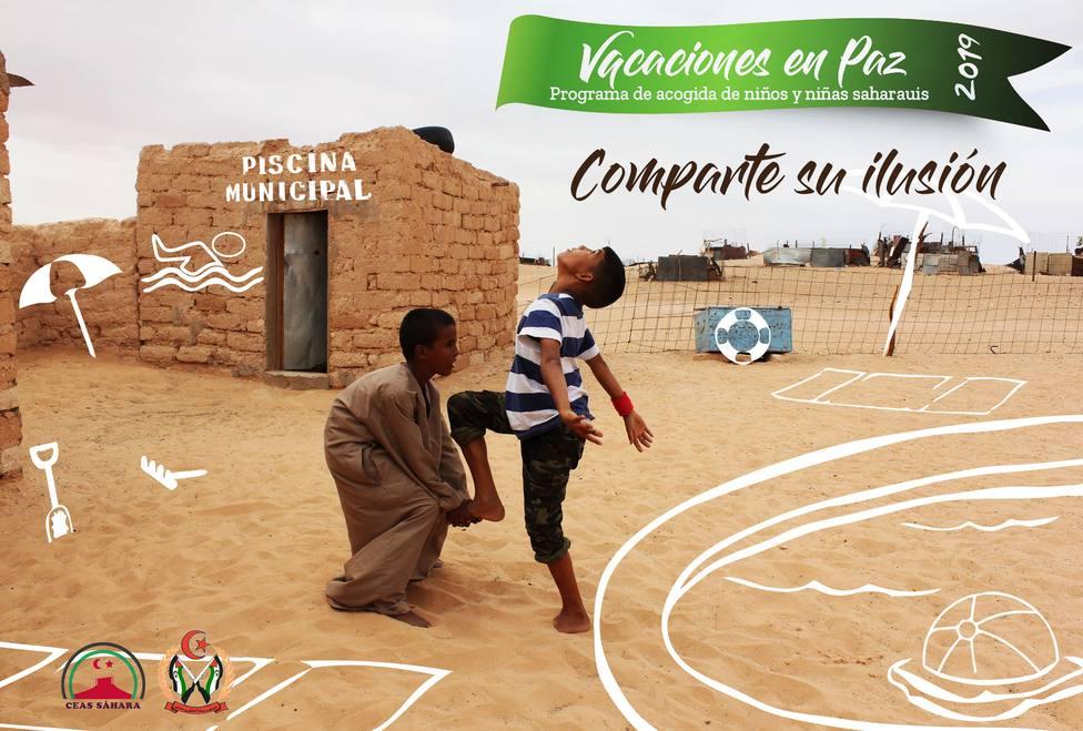 El Gobierno autoriza que 4.286 niños saharauis pasen el verano en España