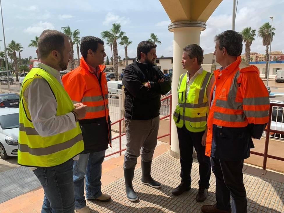 El presidente de Murcia, López Miras: La situación es muy preocupante y se mantiene el riesgo extremo