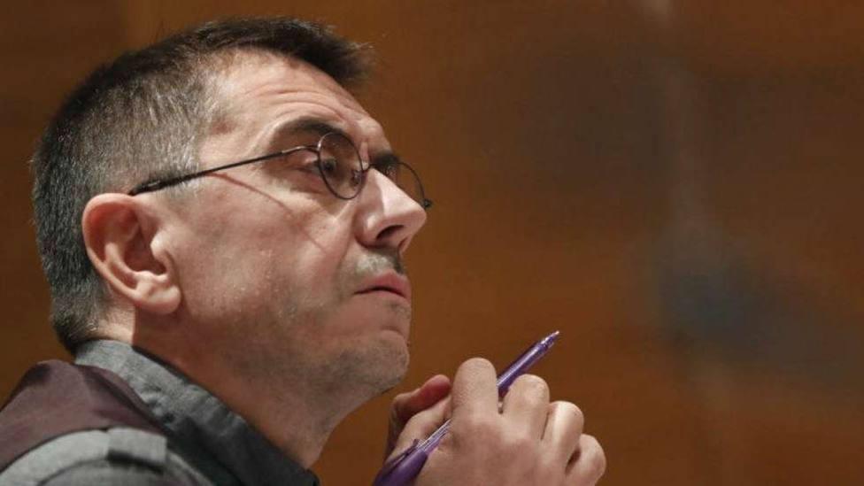 cofundador de Podemos, Juan Carlos Monedero ante Comisión Investigación
