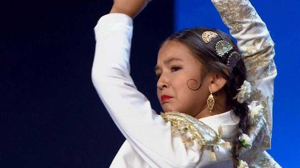 La actuación flamenca de una niña de 10 años que ha ablandado a Risto: Debes ser finalista de Got Talent