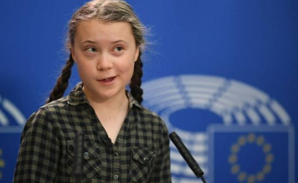 Así ha sido el viaje en tren de Greta Thunberg a Madrid