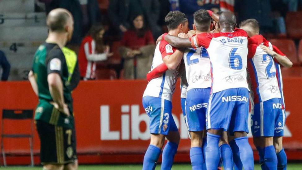Paco Jémez coge aire y el Sporting rompe su racha de cinco partidos sin ganar
