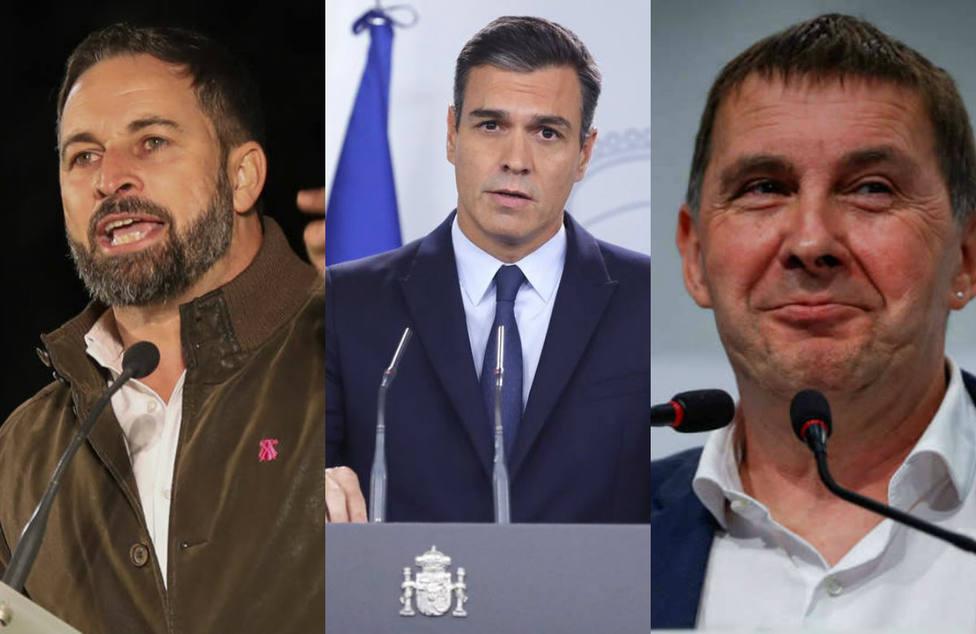 El contundente mensaje de Santiago Abascal al PSOE y sus pactos por la charla de dos etarras en la UPV