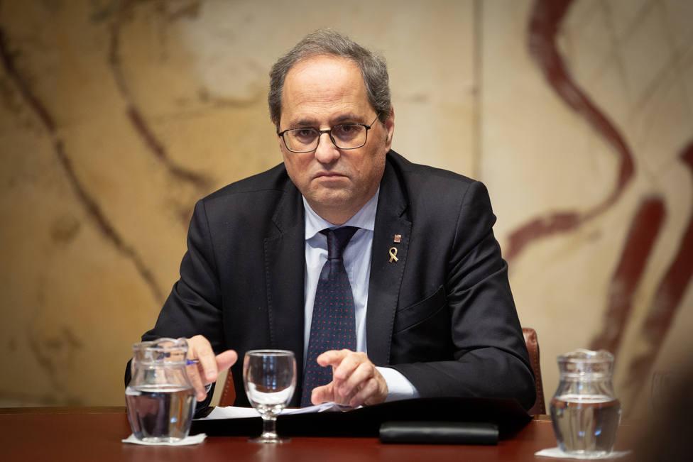 ¿Hasta cuándo sigue siendo Torra presidente de la Generalitat?