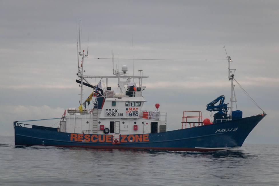 Europa.- El Aita Mari rescata a 93 migrantes en el Mediterráneo