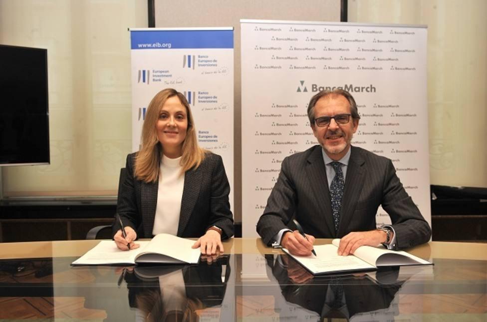El BEI y Banca March financian 400 millones de euros a pymes y midcaps españolas