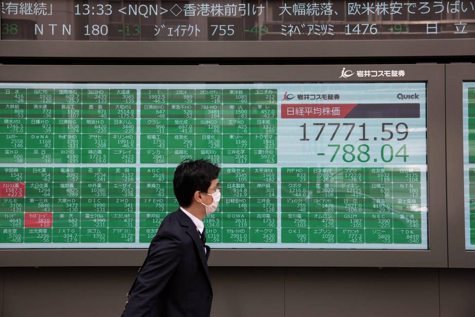 Las bolsas asiáticas cierran con fuertes caídas tras la intervención de emergencia de la Fed