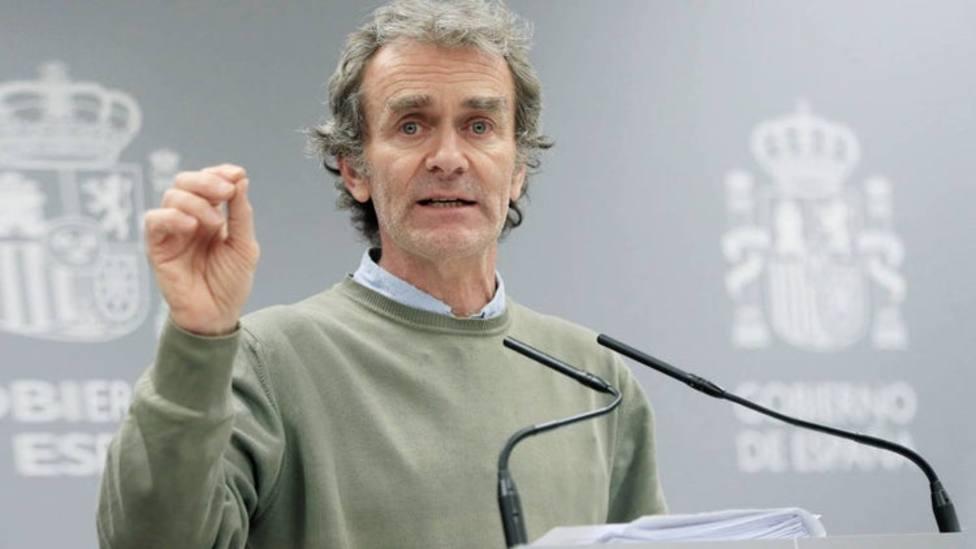 Fernando Simón, director del Centro de Coordinación y Emergencias Sanitarias