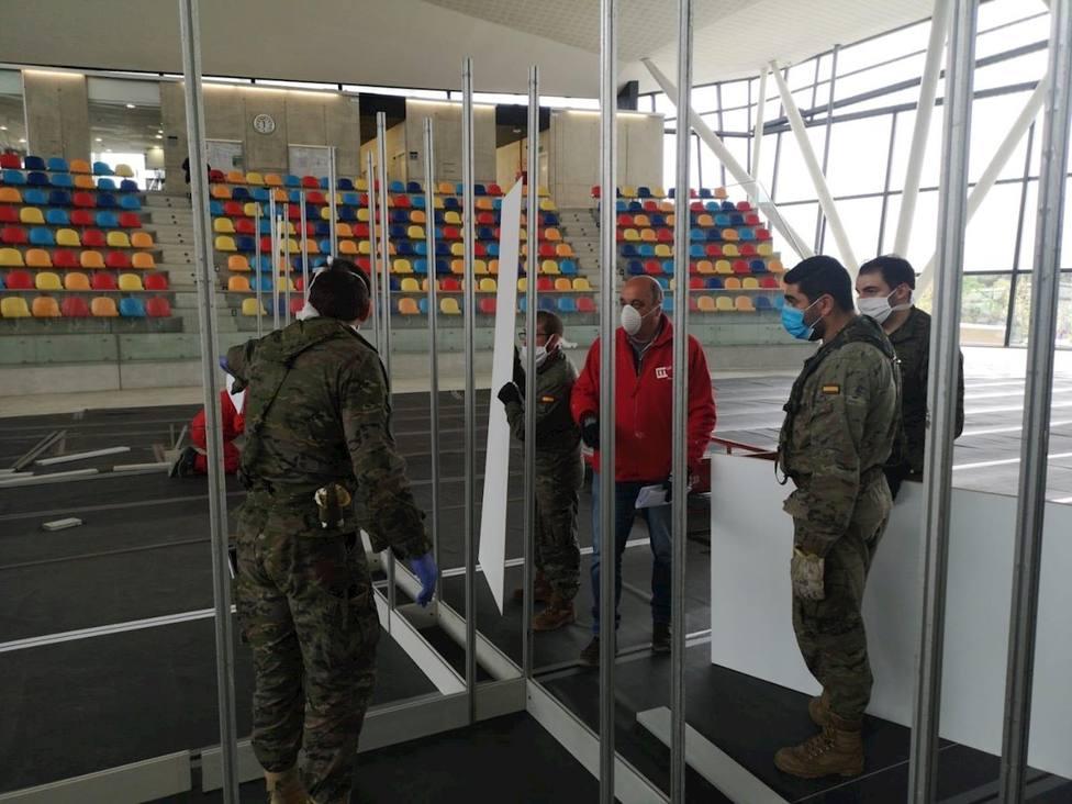El Ejército comienza a retirar material de hospitales de campaña