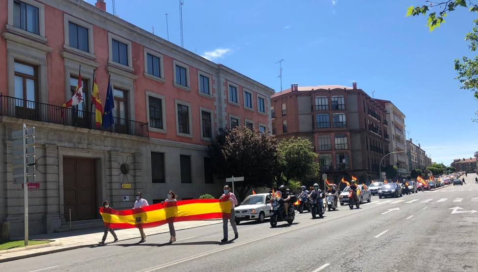 caravana de Vox en Ávila