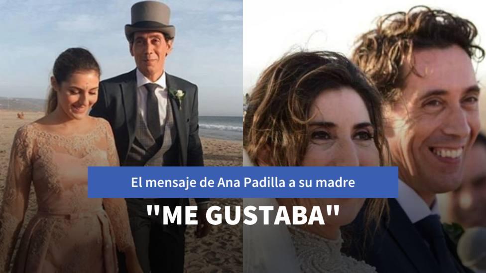 Las primeras palabras de Anna Padilla tras la muerte del marido de su madre