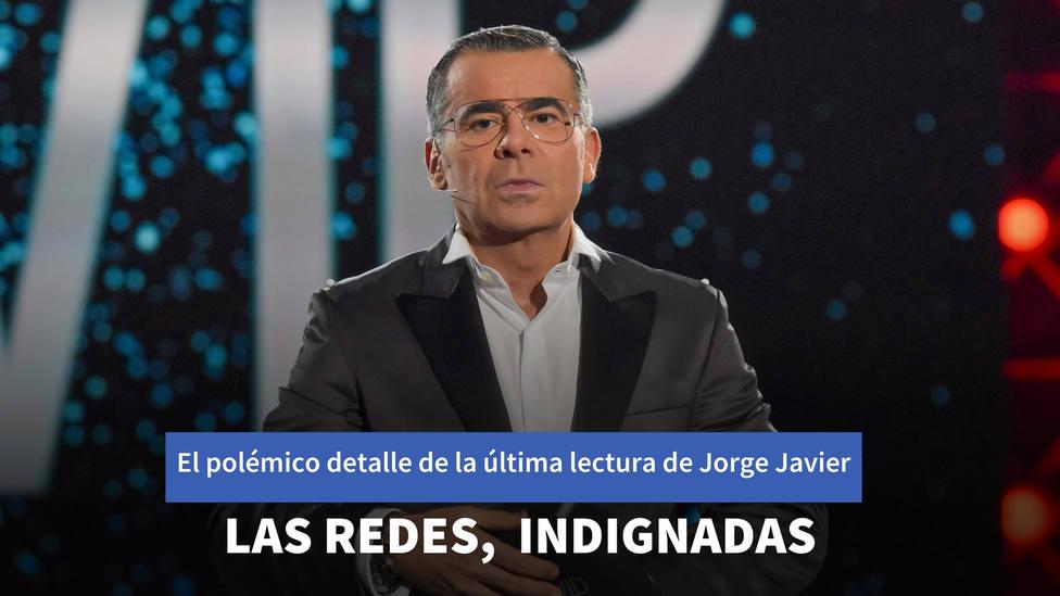 El polémico detalle de la última lectura de Jorge Javier Vázquez que indigna a las redes