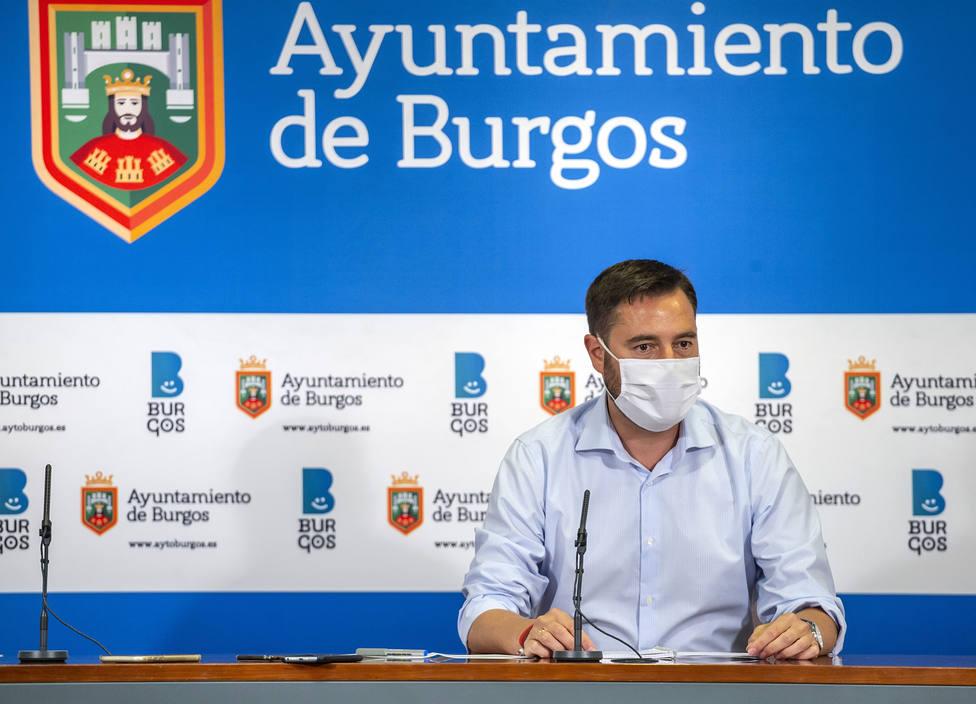 El alcalde de Burgos, Daniel de la Rosa