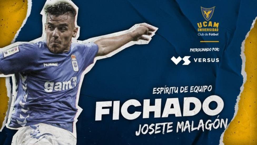 El central Josete Malagón refuerza la defensa del equipo de Salmerón