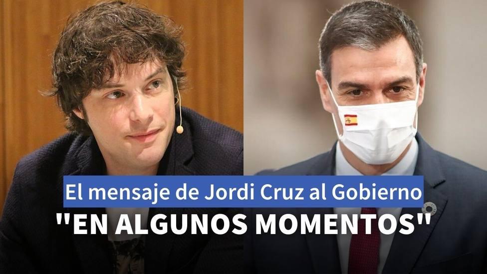 La recomendación de Jordi Cruz, de MasterChef Celebrity, al Gobierno de Sánchez para mejorar su gestión