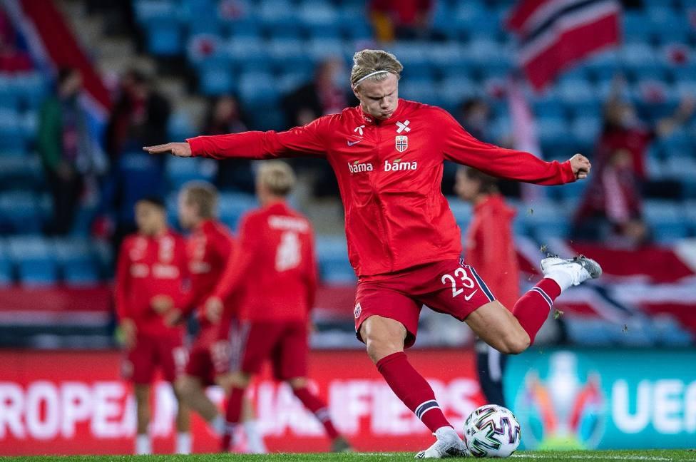 Odegaard y Haaland se quedan sin Eurocopa