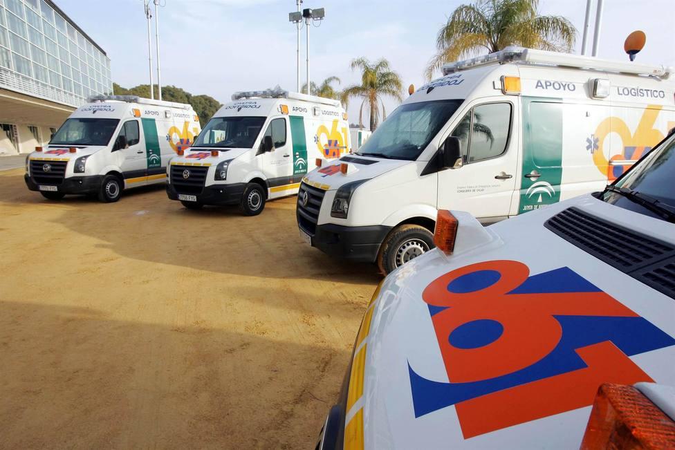 Dos muertos y un herido en una colisión en la carretera A-474 en Hinojos (Hiuelva)