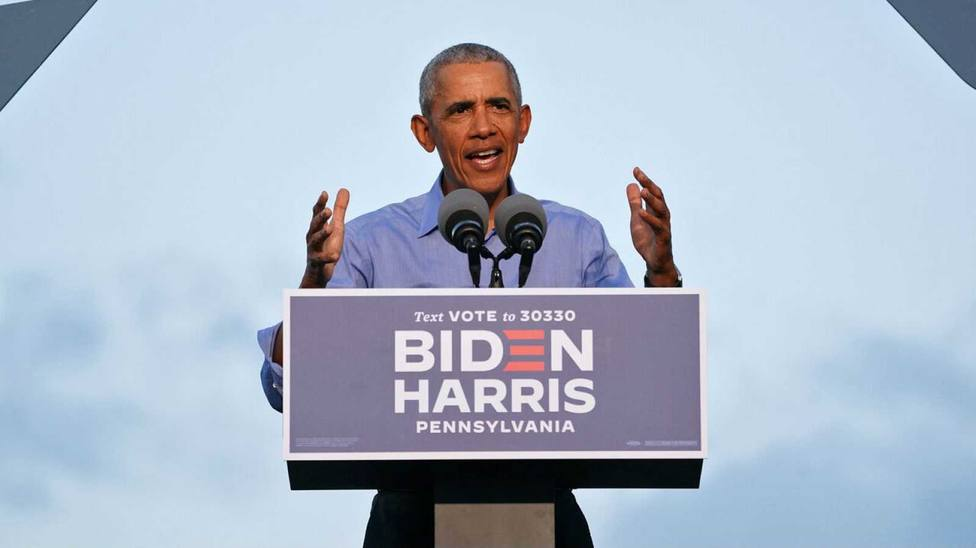Obama reaparece para atacar a Trump y pide el voto para Joe Biden el próximo 3 de noviembre