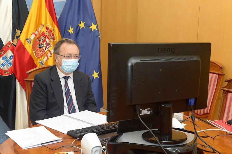 El presidente de Ceuta pide un plus adicional en el reparto de los fondos europeos por su singularidad