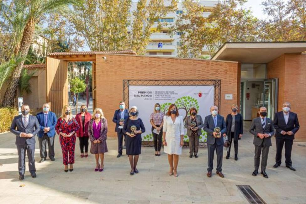 Los Premios del Mayor 2020 reconocen la trayectoria y dedicación a favor de los mayores