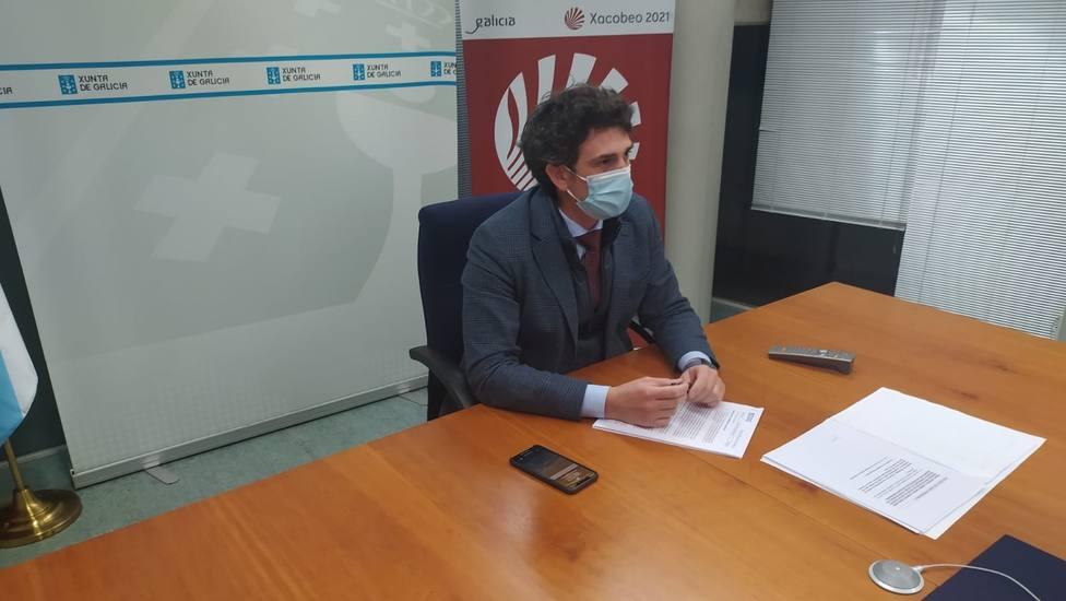 Javier Arias Fouz, delegado territorial de la Xunta de Galicia en la provincia de Lugo